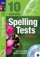 Brodie, Andrew - 10 Minute Spelling Tests for Ages 08-09 - 9781408110836 - V9781408110836