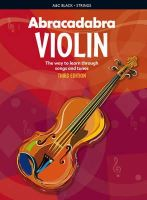 Davey, Peter - Abracadabra Violin (Pupil's Book): The Way to Learn Through Songs and Tunes (Abracadabra Strings) - 9781408114605 - V9781408114605