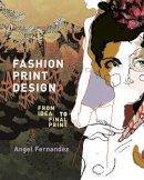 Angel Fernandez - Fashion Print Design - 9781408124895 - V9781408124895