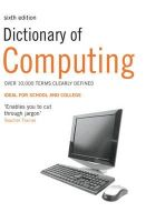 Jane Russell - Dictionary of Computing - 9781408128077 - V9781408128077
