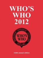 Various - Who's Who 2012 (Who's Who (ACB)) - 9781408142295 - V9781408142295