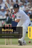 Mark Davis, Sam Collins - Batting (Wisden Coaching) - 9781408146545 - V9781408146545