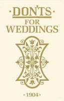 Anonymous - Don'ts for Weddings - 9781408170847 - V9781408170847