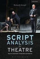 Knopf, Robert - Script Analysis for Theatre: Tools for Interpretation, Collaboration and Production - 9781408184301 - V9781408184301