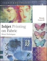 COTTERILL WENDY - DIRECT INKJET PRINTING ON FABRIC TH - 9781408191903 - V9781408191903