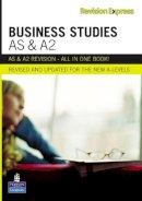 Rowlands, Gareth - Business Studies As & A2 (Revision Express) - 9781408206508 - V9781408206508