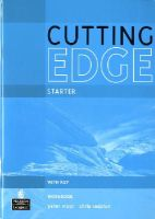 Moor, Peter, Redston, Christopher - Cutting Edge Starter Workbook With Key - 9781408258019 - V9781408258019