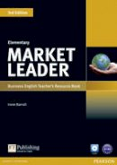 Barrall, Irene - Market Leader: Elementary: Business English Teacher's Resource Book [With CDROM] - 9781408279212 - V9781408279212
