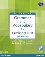 Prodromou, Luke - Grammar and Vocabulary for Cambridge First (with Key) - 9781408290590 - V9781408290590