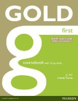 Bell, Jan; Thomas, Amanda - Gold First New Edition Coursebook with MyFCELab Pack - 9781408297926 - V9781408297926