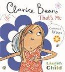 Child, Lauren - Clarice Bean, That's Me - 9781408335468 - V9781408335468