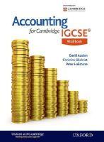 Austen, David, Gilchrist, Christine, Hailstone, Peter - Accounting for Cambridge IGCSE Workbook - 9781408525531 - V9781408525531