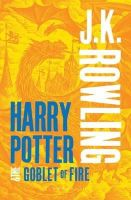 Rowling, J. K. - Harry Potter and the Goblet of Fire - 9781408834992 - V9781408834992