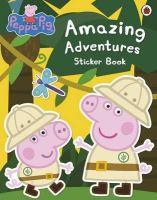 Ladybird Books Ltd - Peppa Pig: Amazing Adventures Sticker Book - 9781409312130 - V9781409312130