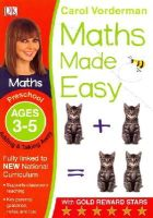 Vorderman, Carol - Maths Made Easy Adding And Taking Away Preschool Ages 3-5: Preschool ages 3-5 (Carol Vorderman's Maths Made Easy) - 9781409344735 - V9781409344735
