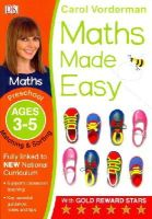 Vorderman, Carol - Maths Made Easy Matching And Sorting Preschool Ages 3-5: Preschool ages 3-5 (Carol Vorderman's Maths Made Easy) - 9781409344865 - V9781409344865