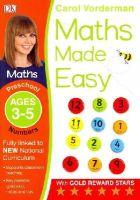 Vorderman, Carol - Maths Made Easy Numbers Preschool Ages 3-5: Preschool ages 3-5 (Carol Vorderman's Maths Made Easy) - 9781409344872 - V9781409344872