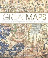 Brotton, Jerry - Great Maps - 9781409345718 - V9781409345718