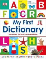 DK - My First Dictionary (Dk) - 9781409386117 - V9781409386117