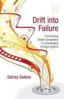 Sidney Dekker - Drift into Failure - 9781409422211 - V9781409422211