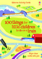 Fiona Watt - 100 Things for Little Children to Do on a Train (Usborne Activity Cards) - 9781409504481 - V9781409504481