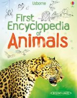Paul Dowswell - First Encyclopedia of Animals - 9781409522423 - V9781409522423