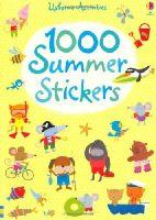 Fiona Watt - 1000 Summer Stickers (Usborne Sticker Books) - 9781409524755 - V9781409524755
