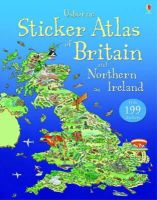 Turnbull, Stephanie - Usborne Sticker Atlas of Britain and Northern Ireland - 9781409544784 - V9781409544784