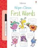 Greenwell, Jessica - Wipe Clean First Words (Usborne Wipe Clean Books) - 9781409551508 - V9781409551508