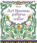 Bone, Emily - Art Nouveau Patterns to Colour - 9781409564232 - V9781409564232