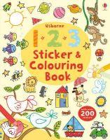 Greenwell, Jessica - 123 Sticker and Colouring Book (Usborne Colouring Book + Stickers) - 9781409564591 - V9781409564591