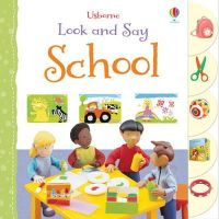 Brooks, Felicity - Look and Say School (Usborne Look and Say) - 9781409566212 - V9781409566212
