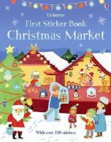 James Maclaine - First Sticker Book Christmas Market (First Sticker Books) - 9781409582441 - V9781409582441