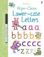 Jessica Greenwell - Wipe-Clean Lower-Case Letters - 9781409582618 - V9781409582618