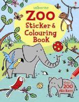 Greenwell, Jessica - Zoo Sticker and Colouring Book - 9781409584339 - V9781409584339