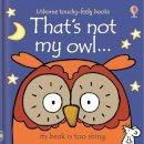 Fiona Watt - That's Not My Owl - 9781409587583 - V9781409587583