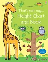 Fiona Watt - That's Not My Height Chart and Book - 9781409597360 - V9781409597360