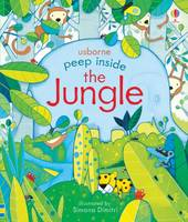 Anna Milbourne - Peep Inside the Jungle - 9781409599159 - V9781409599159