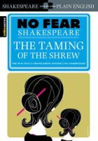 SparkNotes Editors - The Taming of the Shrew (No Fear Shakespeare) - 9781411401006 - V9781411401006