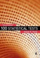 Kanji, Gopal K. - 100 Statistical Tests - 9781412923767 - V9781412923767