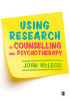 Mcleod, John - Using Research in Counselling and Psychotherapy - 9781412962285 - V9781412962285