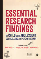 - Essential Research Findings in Child and Adolescent Counselling and Psychotherapy - 9781412962490 - V9781412962490