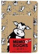 Rosenthal, Amy Krouse - Holy Cow: Memo Books (Set of 3 Notebooks) - 9781419722127 - V9781419722127