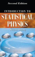 Huang, Kerson - Introduction to Statistical Physics - 9781420079029 - V9781420079029