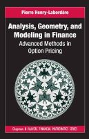 Henry-Laborde're, Pierre - Analysis, Geometry and Modeling in Finance - 9781420086997 - V9781420086997