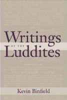 - Writings of the Luddites - 9781421416960 - V9781421416960