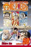 Eiichiro Oda - One Piece, Vol. 58 - 9781421539263 - V9781421539263