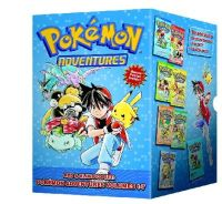 Hidenori Kusaka - Pokemon Adventures Red & Blue Box Set (set includes Vol. 1-7) - 9781421550060 - V9781421550060