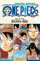 Oda, Eiichiro - One Piece: Water Seven 34-35-36, Vol. 12 (Omnibus Edition) - 9781421577791 - V9781421577791