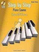 Burnam, Edna Mae - Step by Step Piano Course Book 3 (Bk/Cd Pack) - 9781423436072 - V9781423436072